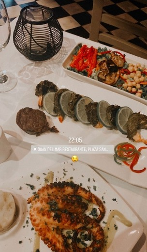 Juan del Mar Restaurante y Juan del Mar Pizzería Gourmet