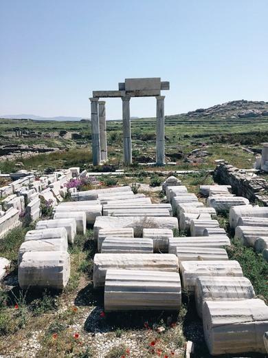 Yacimiento arqueológico de Delos
