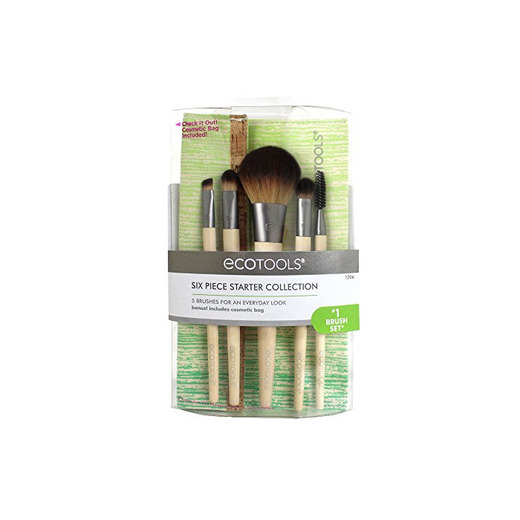 Ecotools Brush Set de 5 Brochas y Neceser