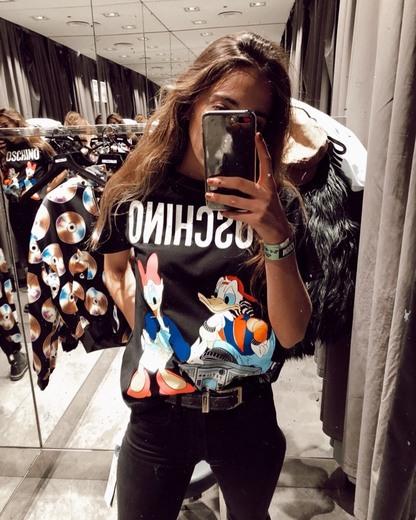 Camiseta moschino-