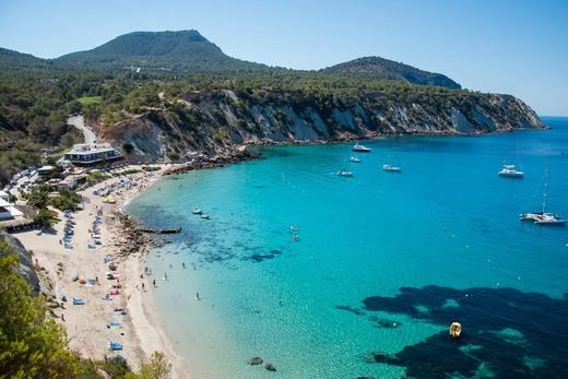 Playa de Cala d'Hort (Sant Josep de Sa Talaia)