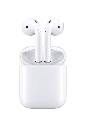 Apple AirPods - Auriculares inalámbricos de botón