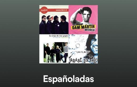 Españoladas