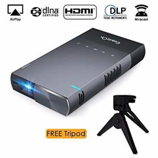 Proyector DLP Portátil ExquizOn S1 Video 1080P Full HD soporta ...
