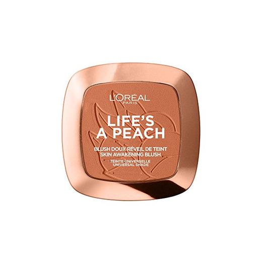 L 'Oréal Paris Blush Life' s a Peach Addict