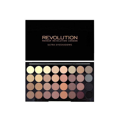 Paleta de sombras de ojos MakeUp Revolution Ultra 32mate