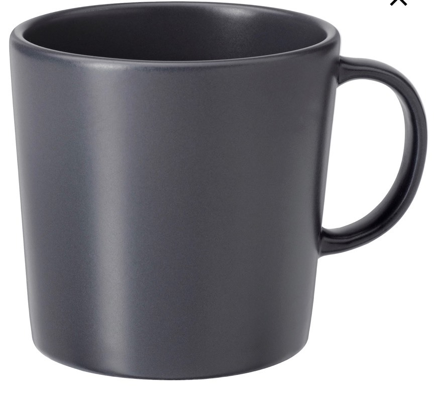 DINERA Tazón - gris oscuro - IKEA