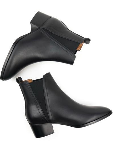 Chelsea Boots In Black | Will's Vegan Store