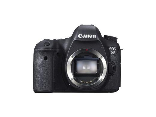 Canon EOS 6D - Cámara reflex digital DSLR