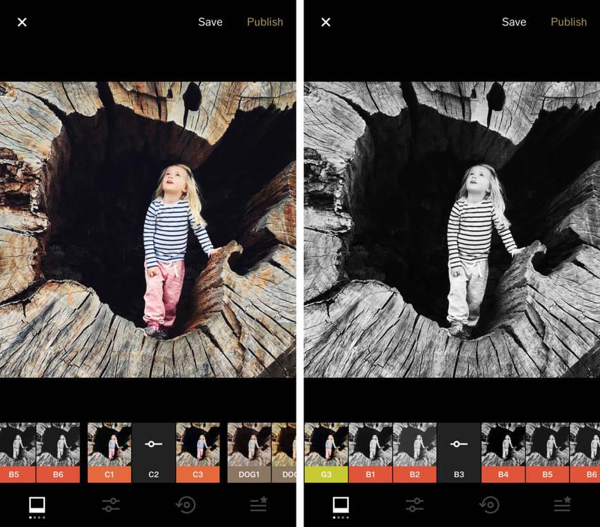 VSCO: Editor de Fotos y Vídeos