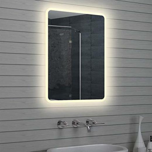 Lux-aqua - Espejo de baño con luz led