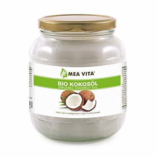 Aceite puro de coco virgen extra orgánico MeaVita 1 Litre