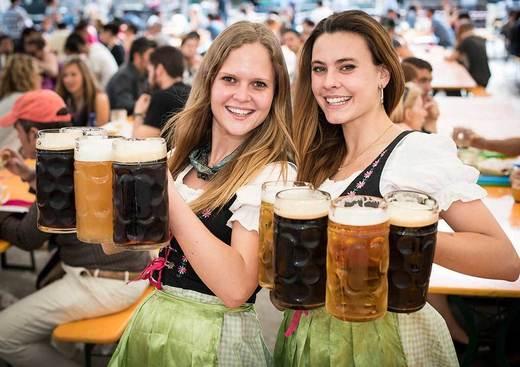Biergarten, Fiesta de la Cerveza