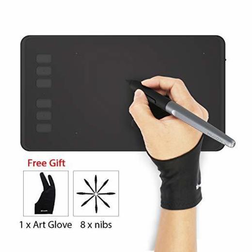 HUION INSPIROY H640P Tableta Gráfica de Dibujo Lápiz óptico Sin Batería con