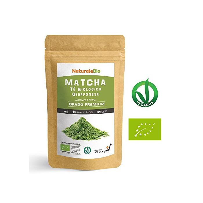 Té Verde Matcha Orgánico Japonés En Polvo [ Calidad Premium ] 100g.