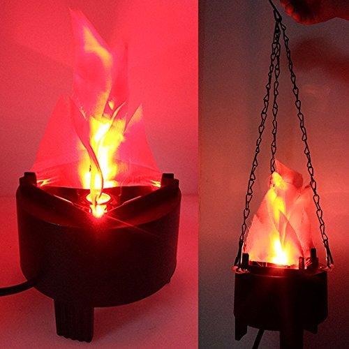 Lámpara de fuego de simulación LED falsa llamas artificiales 3D llamas Campfire