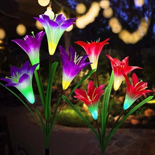 Luces Solares de Jardín LED