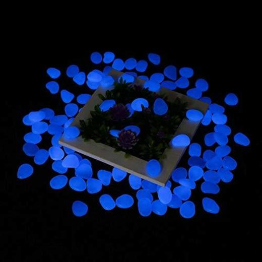 Tvird Piedras Decorativas Guijarros,Piedras Luminosas Piedras 300Pcs Decorativas Jardin Acuario Stones Glow