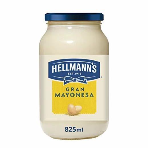 Hellmann's - Mayonesa Gran con Huevos 100% de Corral