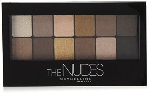 Maybelline Paleta de Sombras de Ojos The Nudes