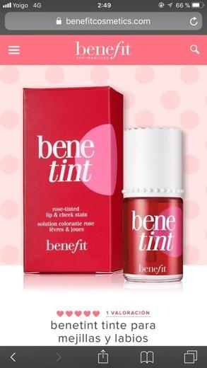 Benetint Rose, tinte para labios y mejillas, de Benefit