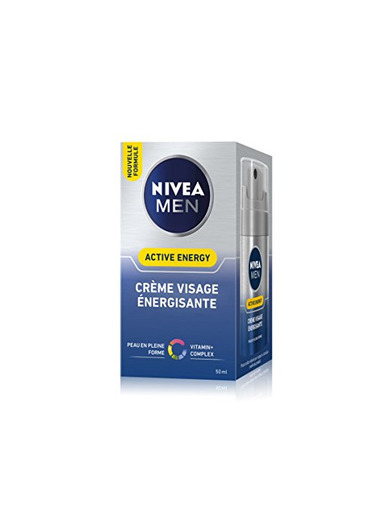 Nivea Men Crema Facial energisante – active-energy – 50 ml