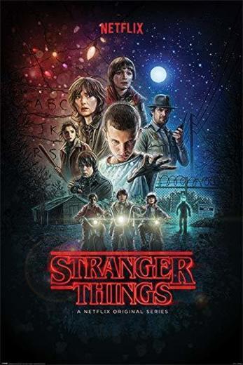 Stranger Things Póster