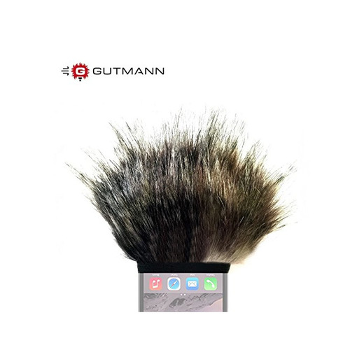 Gutmann Micrófono parabrisas, parabrisas para Apple Iphone 8–Modelo Especial mercurio