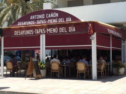restaurante antonio cañon