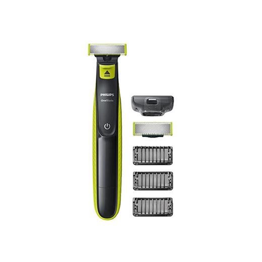 Philips OneBlade QP2520/30 - Recortador de Barba con 3 Peines de 1