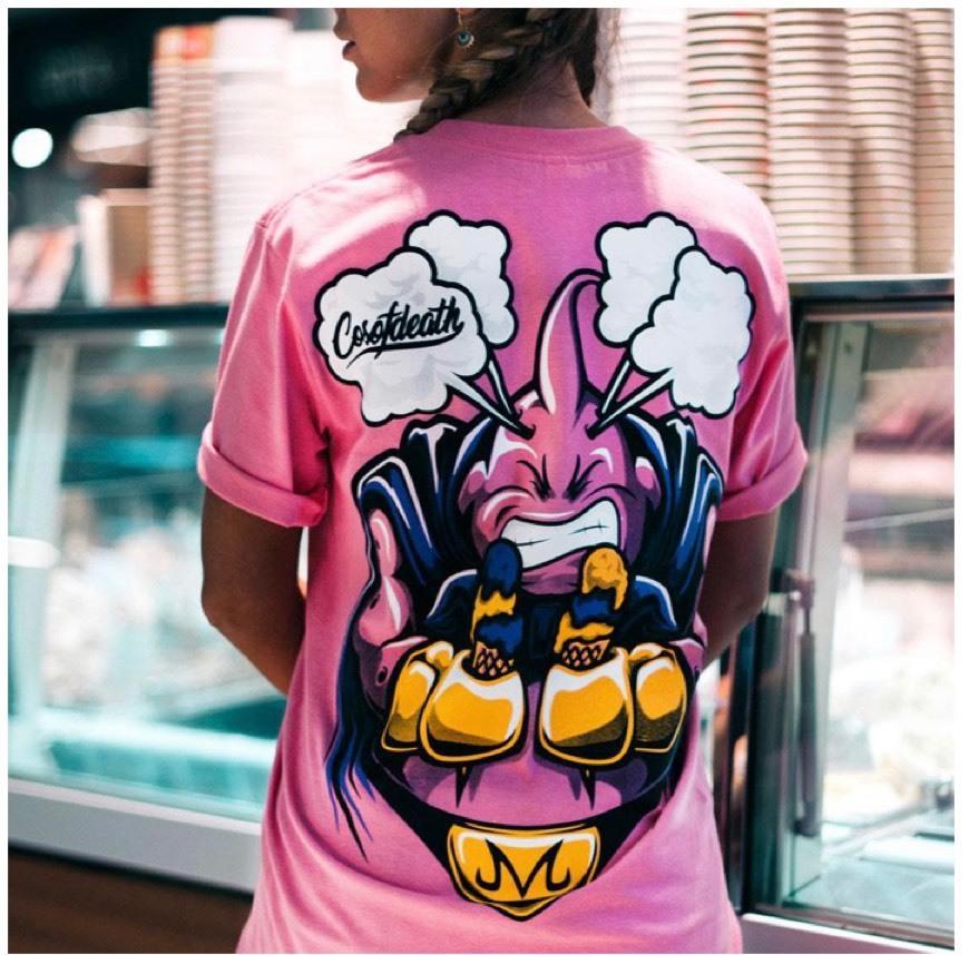 camiseta FAT BUU