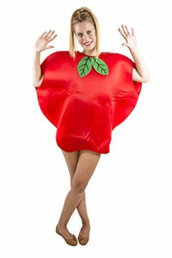 Costumizate! Disfraz de Manzana Adulto Especial para Fiestas de Disfraces y Carnaval