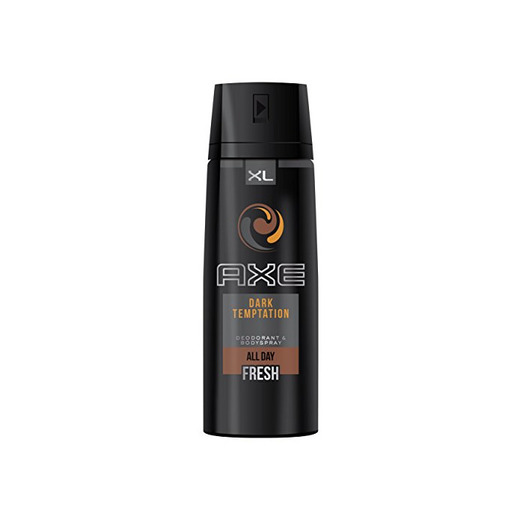 AXE Desodorante Bodyspray Dark Temptation XL - 3 Paquetes de 200 ml
