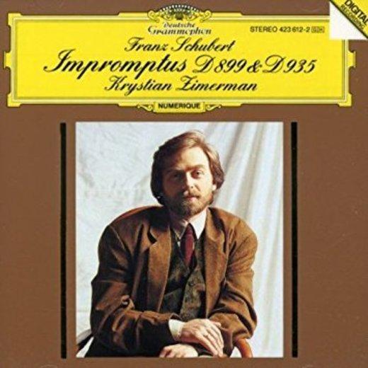 Franz Schubert, Krystian Zimerman - Schubert: Impromptus, D 899 ...