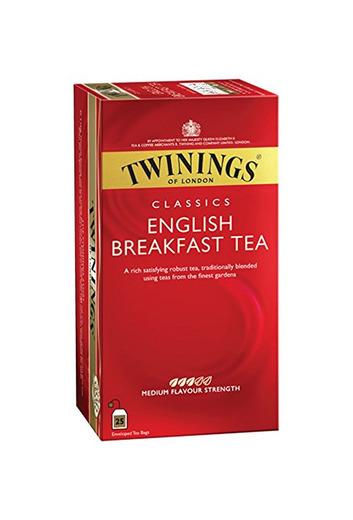 Infusión Twinings Té English Breakfast 25Sobres