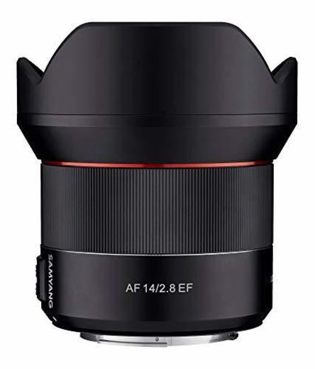 Samyang SA7051 - Objetivo de focal fija con auto focus para cámaras