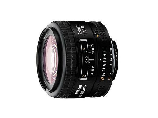 Nikon 28mm f/2.8D AF Nikkor SLR - Objetivo