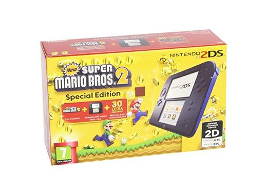 Nintendo 2DS - Consola, Color Azul