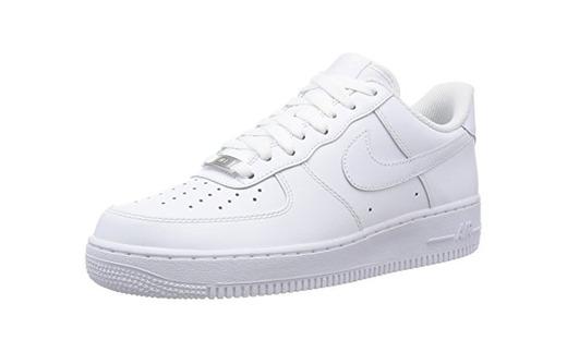 Nike Air Force 1, Zapatillas de Baloncesto Unisex Niños, Blanco