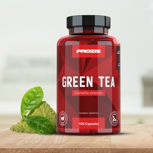 Té verde EGCG 200 mg 100 cápsulas