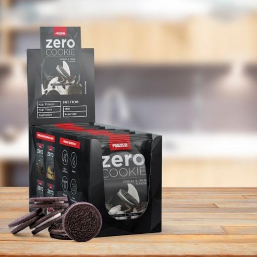 12 x ZERO Cookie 60 g - Bars & Snacks On The