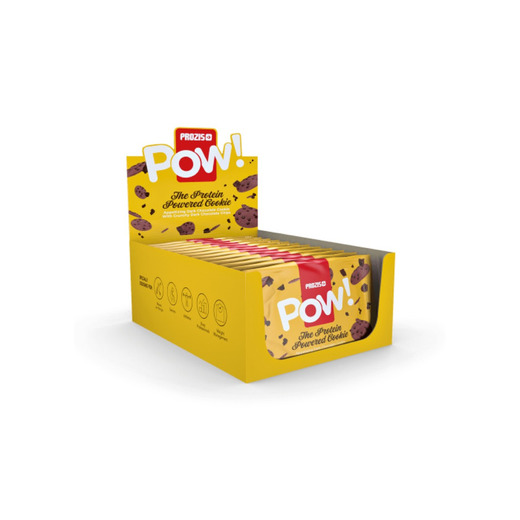 12 x POW! - Protein Cookie 60 g - Bars & Snacks