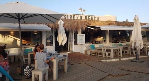 Siroko Beach Marbella | restaurante chiringuito en Costabella Playa