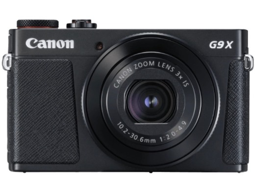 Cámara - Canon G9 X MARK II BK, negro, F2-4.9, estabilizador de ...