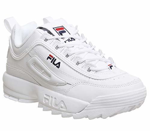Fila Disruptor II Premium Niña Zapatillas Blanco