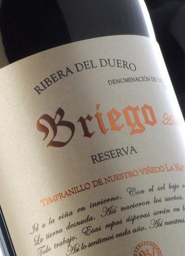Briego Vendimia Seleccionada 2016 - Comprar vino Tinto Joven ...