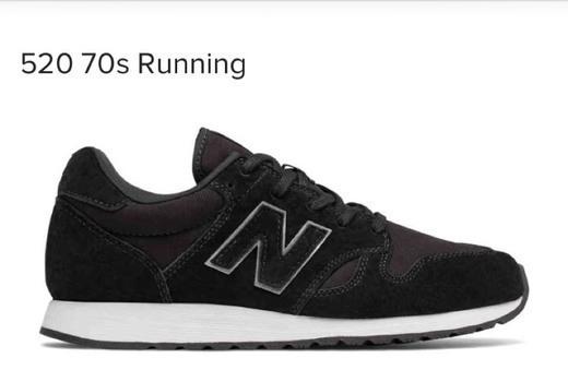New Balance 520 70s negras