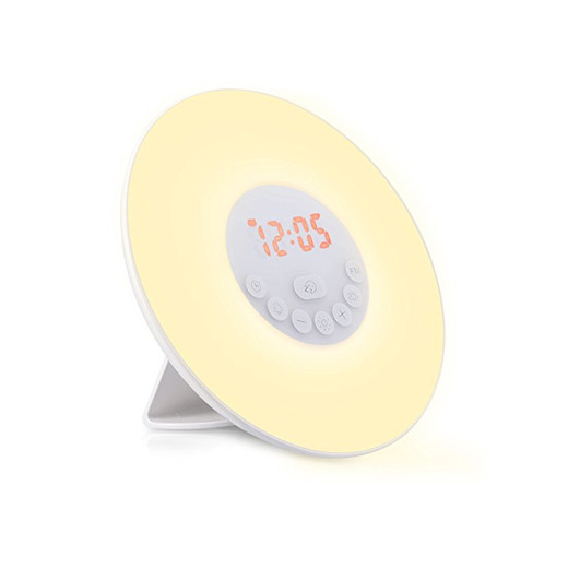 Navaris despertador LED con Wake Up Light