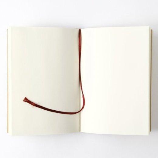 MUJI Blank Mini Notebook japonés paperback-size unruled 144sheets