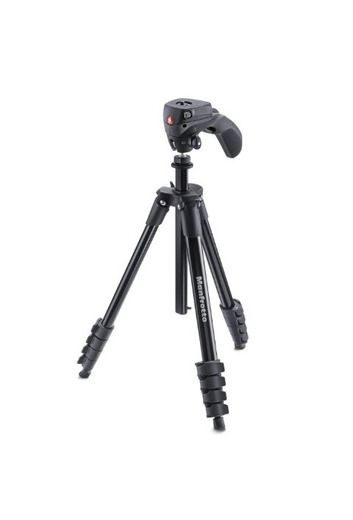 Trípode completo Manfrotto Compact Action